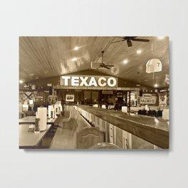Texaco Metal Print