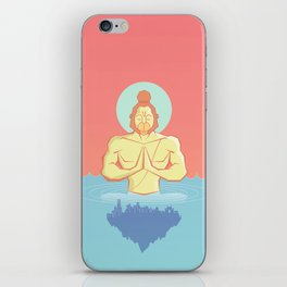 Hanuman Ji : Early morning Meditation  iPhone Skin