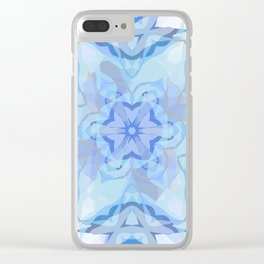 Christmas star Clear iPhone Case