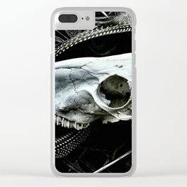 Dem Bones Clear iPhone Case