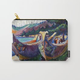 Emily Carr First Nations War Canoes in Alert Bay Carry-All Pouch