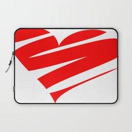 Stylized Heart Laptop Sleeve