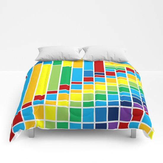 Fuzz Outline Comforters