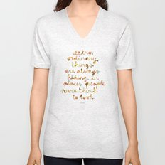 Extraordinary things Unisex V-Neck