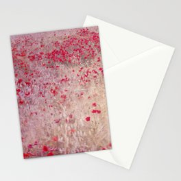 Fields of poppies Stationery Cards