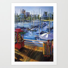 A View from Shoreline Village Art Print