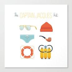 Captain Jacques 02 Canvas Print