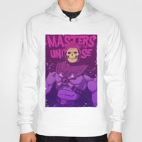 skeletor Hoodies featuring Masters of the Universe - Skeletor by Mike Wrobel