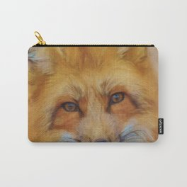 Painting Oil Painting Photo Painting Fuchs Red Fox Carry-All Pouch
