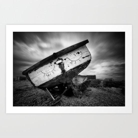 Let Sleeping Boats Lie Art Print