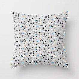 Terrazzo Surface Pattern Throw Pillow
