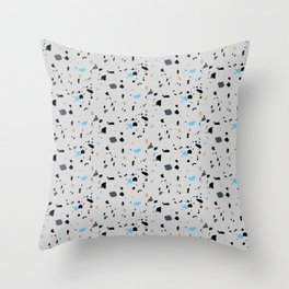 Terrazzo Surface Pattern Throw Pillow