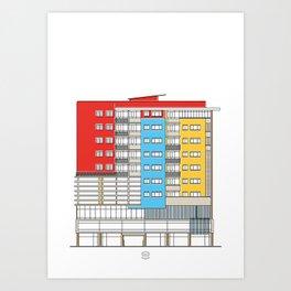 Edificio Canaima Art Print