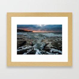 Cala de Benissa IV Framed Art Print