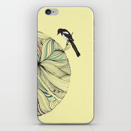 Magpie iPhone & iPod Skin