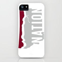 Griz Nation (Hi-Line Nation) iPhone Case