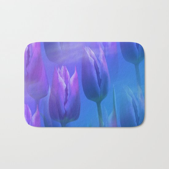 Dreamy tulips Bath Mat