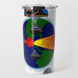 Mayan Astronauts Travel Mug