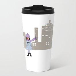 Petunia - in the city Travel Mug