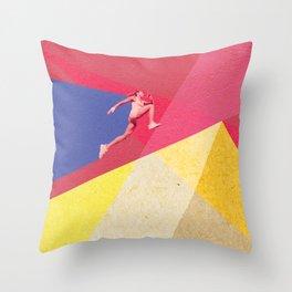 human dynamic #5 Throw Pillow