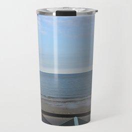 Beach Huts Travel Mug