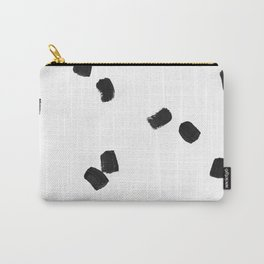 Dashing Strokes Carry-All Pouch