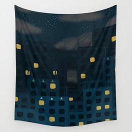 Starlight Night Wall Tapestry