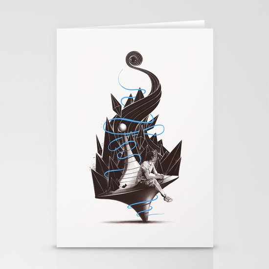 Trying To Find A Balance Stationery Cards