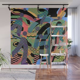 HODGE PODGE FIGURES IN LIMBO Design Illustration Pattern Print Wall Mural