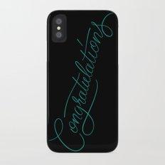 Congratulations Slim Case iPhone X