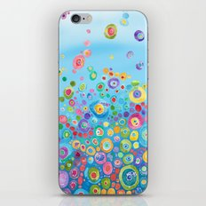 Inner Circle - Blue iPhone Skin