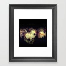 Killing fields Framed Art Print