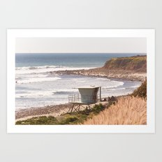 Summer in Malibu Art Print