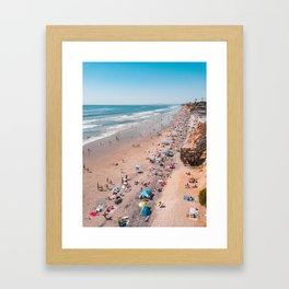 Vacationland Framed Art Print