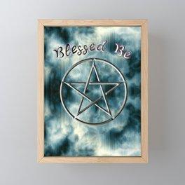 Blessed Be Framed Mini Art Print