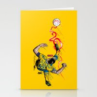 zlatan Stationery Cards featuring FantaSweden Zlatan Swirl  by Akyanyme
