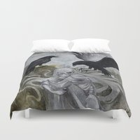 ghost Duvet Covers featuring Ghost by Savannah Horrocks