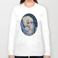 garrus Long Sleeve T-shirts featuring Garrus Vakarian by ArtisticCole