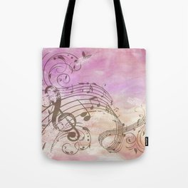 Music Notes Flutter 2 Tote Bag