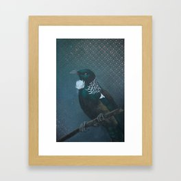 Tui & Scallops  Framed Art Print