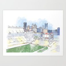 Heinz Field Art Print