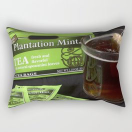 A Little Nip - Cup o' Tea Rectangular Pillow
