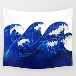 Waves with no sky Wall Tapestry