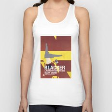 Mary Chain & Blacker band poster Unisex Tank Top