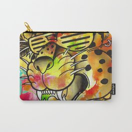 Rad Leopard Carry-All Pouch