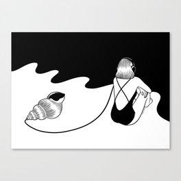 Summer Sound Canvas Print