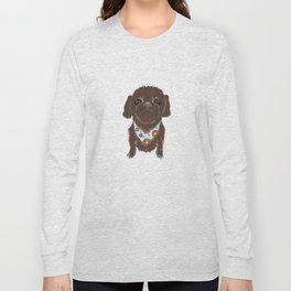 Pedicure Puppy Long Sleeve T-shirt