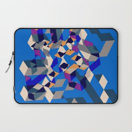 Blue collage Laptop Sleeve