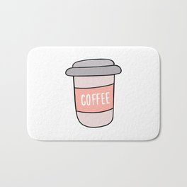 Cup of coffee Bath Mat
