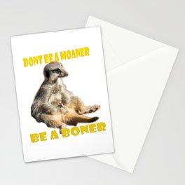 Meerkat Boner Stationery Cards